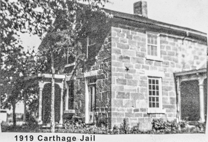 CO19 P59c 1919 Carthage Jail